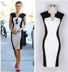 ROBE WOMAN 36 38 40 COCKTAIL SEXY DRESS SOIRéE DONNA MUJER LADY BODYCON FEMME