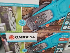 Gardena Akku-Rasenmäher PowerMax Li-18/32 mit Akku 5039-20 Rasenmäher Mäher