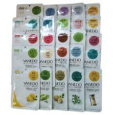 Vanedo Facial Essence Mask Sheet Pack 25 Types Full Set (Each1ea) USA Shippment