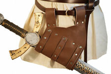 Larp-sca-cosplay-roleplaying-brown CUOIO Schiuma ARMA appesa SCABBARD