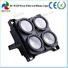 4x100w COB LED PAR Blinder light 400W warm white LED MATRIX background light