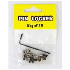 Biker Pin Lockers Locks Anstecker Anstecknadel Sicherung Verschluss Inbus 10st.