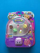 Shopkins Season 5 5 pack with Charm bracelet In Hand
