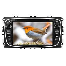 "7"" GPS SAT NAV Car DVD Player Radio Stereo Bluetooth 3G Ford Mondeo Focus Galaxy"