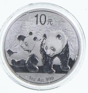 2010 China 10 Yuan - 1 Oz. Silver Panda *564