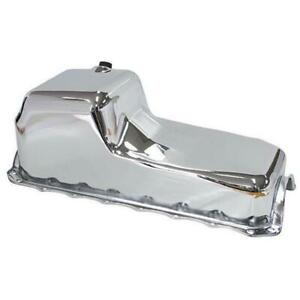RTS Oil Pan Sump Steel Chrome Finish Standard For Holden 253 308