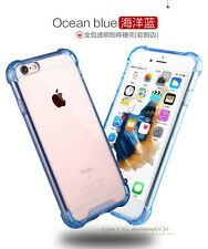 Hybrid Rubber Shockproof TPU Clear Back Cover Case for Apple iPhone 6 6s Plus