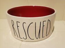 Rae Dunn Artisan Collection by Magenta RESCUED Red Dog Dish Bowl NEW