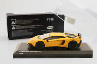 New 1/64 Kyosho Lamborghini Aventador LP750-4 SV car model Orange with Showcase