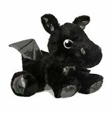 Aurora 61017 Sparkle Tales Onyx Dragon 12in Soft Toy Black