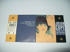 Julian Cope China Doll 4 Track cd Single card case 1989 Ex Condition
