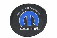 Genuine Jeep Accessories 82212461 Cloth Spare Tire Cover with Mopar Logo