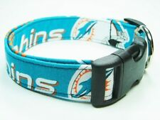 Charming Miami Dolphins Football Dog Collar