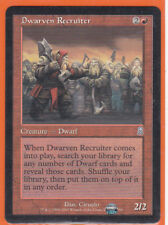 MTG Magic  Odyssey Uncommon 1 x DWARVEN RECRUITER Creature 186/350 Never played
