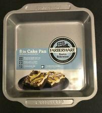 """Farberware Nonstick Bakeware 8"""" Square Cake, Brownie, Pan"""