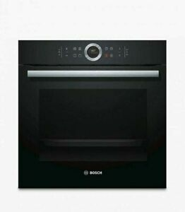 BOSCH Serie 8 HBG634BB1B Electric Oven Black 71L Self Cleaning A+ 16 Amp