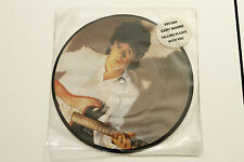 "Gary Moore FALLING IN LOVE WITH YOU - 7"" PICTURE DISC 45 RPM - NM 1982 VIRGIN"