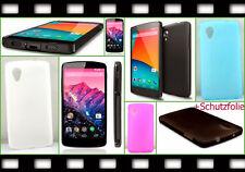 TPU Case Tasche LG Google Nexus 5 D821 820 Handy Schutz hülle Cover Schale Folie