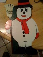 Frosty the Snowman Christmas Wall Decoration ornament
