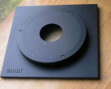 Sinar jinete 12.5 mm Top Hat Lensboard Copal Nº 0