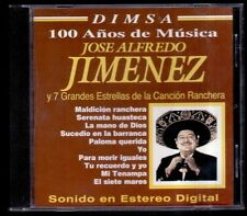 JOSE ALFREDO JIMENEZ - Cancion Ranchera - MEXICO CD Dimsa 2004 - 10 Tracks