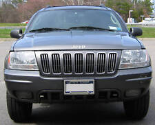 JEEP GRAND CHEROKEE CHROME GRILL TRIM 99 00 01 02 03 04