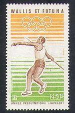 Wallis & Futuna 1983 Olympics/Sports/Olympic Games/Javelin/Athletics 1v (n37467)