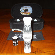 FRED ZINK CALL OF DEATH COD GOOSE CALL+CASE+BAND+DVD+REEDS PEARL SWIRL NEW!