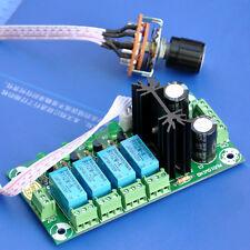 Audio Input Selector Relay Module, With 12VDC regulator