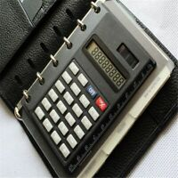 Solar Loose Leaf Binder 8 Digits with Ruler Calculators Calculator Spiral Office