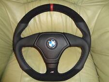 EXTREM TUNING Lederlenkrad + Airbag BMW E34 E36 (2) E39 Z3 UNTEN ABGEFLACHT