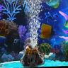 Aquarium Vulkan Form & Luftblase Stein Sauerstoffpumpe Aquarium Ornament TX