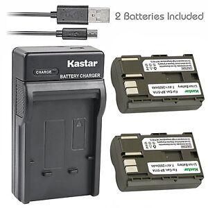BATTERY 1600mAh FOR CANON BP-511 EOS-5 10 20 300 D 5D D30 D60 AKKU