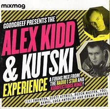 MIXMAG GOODGREEF Alex Kidd & Kutski Exp Showtek Yoji Organ Donors HARD TRANCE CD