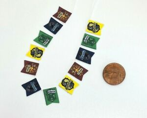 Dolls House Miniature Harry Potter Bunting (DD457) P&P Combined