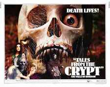 Tales from the crypt 1972 POSTER 02 A3 Box Toile imprimer