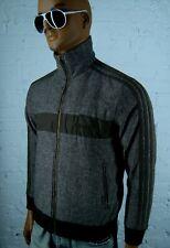 Men's Adidas Originals Track Jacket Full Zip Brown Stars Size S