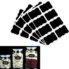 Hot 2set Chalkboard Sticker Label Vinyl Kitchen Jar Cup Bottle Decal Tags