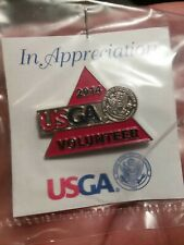United States Golf Association USGA 2014 Volunteer Hat - Lapel Pin
