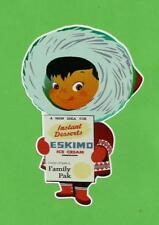 """ESKIMO PIE"" BOY Vinyl Sticker Decal ICE CREAM Vanilla & Chocolate advertsing !!"