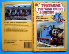 Toby & The Stout Gentleman + Thomas In Trouble Tank Engine Friends Ladybird book