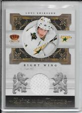 10-11 Crown Royale Loui Eriksson Heirs To The Throne Jersey #d/250