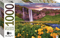 Seljalandsfoss, Iceland Mindbogglers 1000 Piece Jigsaw Puzzle by Hinkler NEW