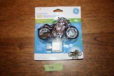 GE Motorcycle Automatic LED Night Light Light Sensing Energy Efficient #10904