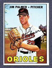 1967 Topps #475 Jim Palmer - Baltimore Orioles   Nm+