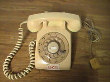 Vintage Itt Rotary Dial Telephone Table Desk Top