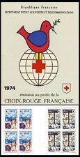 Carnet Croix-Rouge CR2023 - Carnet Croix Rouge  - 1974