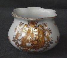Vintage Limoges Candle Holder ~ gold Painted Roman Dinner Scene ~ Stunning!