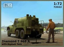 IBG Models 1/72 Diamond T 968A with Asphalt Tank # 72022