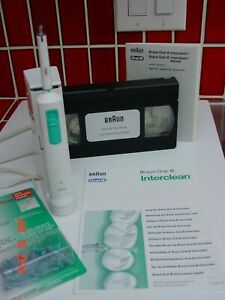 Braun Oral-B Interclean Deluxe Interdental Plaque Remover, Model 2025 T.,